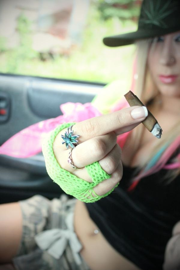 Chicks and weed